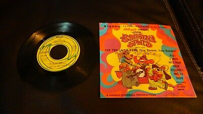 The BANANA SPLITS The Tra-La-La Song Kellogs presents 1969 45 Record /Sleeve