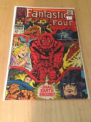 Fantastic Four 77 August 1968 Marvel Comics