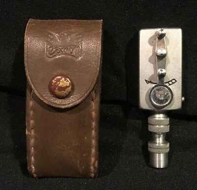 Vintage Canon Self-Timer w/ Eagle Leather Case for Rangefinder Camera Made Japan
