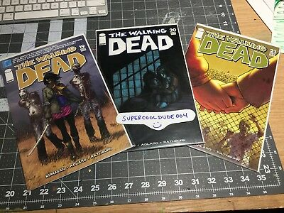 The Walking Dead comic lot #19, 20 and 21 Image Comics First Run