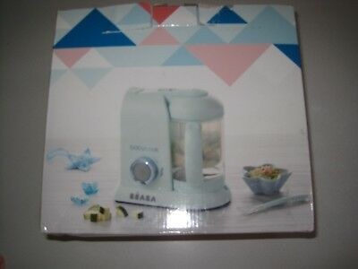 Beaba Babycook Macaron Collection 4 in 1 Steam Cooker and Blender,  Blueberry