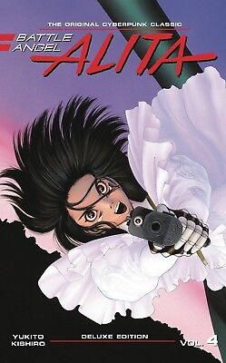 BATTLE ANGEL ALITA DELUXE EDITION VOL #4 HARDCOVER Kodansha Comics HC