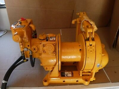New Ingersoll Rand Model Bu7A With Globe Remote Control Air Tugger Winch