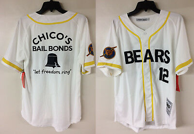 1453287e5c9 Tanner Boyle Bad News Bears #12 Movie Authentic Baseball Sewn Jersey  Throwback