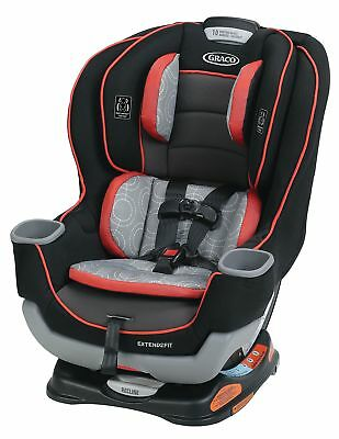Graco Extend2Fit Convertible Car Seat, Solar, One Size New
