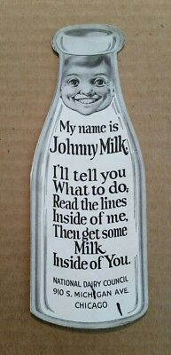 """""""Johnny Milk"""" National Dairy Council,Advertising Brochure,1920's-30's"""