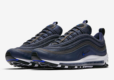 6fcc1d426f Nike Air Max 97 Obsidian Size 7-13 Navy Black White Running Shoes 921826 402