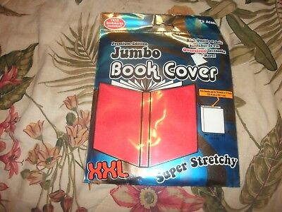 XXL JUMBO Red Book Cover Stretch Sox sock School College (B166)