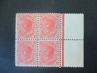 Victoria Stamps: Variety block of 4 MNH  - (i114)