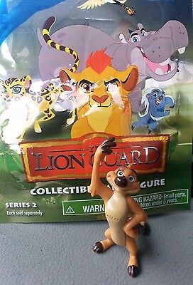 "THE LION GUARD TIMON mini bag figure toy Just Play Series 2 Disney Jr. 2"" loose"