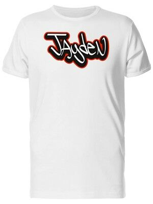 Jayden Cool Street Art Name Men's Tee -Image by Shutterstock