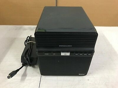 Synology Diskstation DS411 4 Hard Drive Bay NAS Server with 2 x 2TB SATA HDD