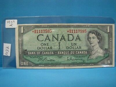 1954 Bank of Canada $100 Devil's Face Note - PCGS Choice New