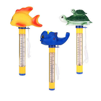 Kawaii Animal Floating Pool Thermometer Safety Measurement For Spa Swimming Pool