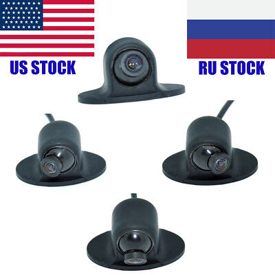 CCD HD Night Vision 360 Degree Car RearView Camera Front View side view Camera
