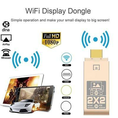 Wireless WiFi HDMI Display Dongle  TV Stick Miracast Airplay DLNA Adapter