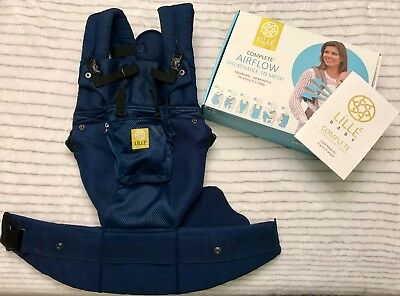 ca0e40f7d99 LILLEBABY CARRIER-COMPLETE 6 in 1 position airflow (navy) EUC ...