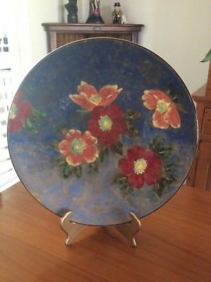 Royal Doulton Wild Roses Large Charger 13.5 Inches In Diameter