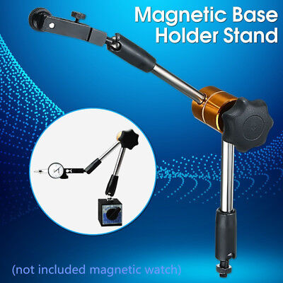 Universal Flexible Magnetic Metal Base Holder Stand Dial Test Indicator Tool