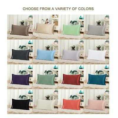 Bedding Pillowcase Pure Mulberry Silk Pillow Cover Allergy Free Silk Pillowcases