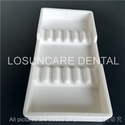 1pc Sterilized Autoclavable 135° Dental Divided Tray plastic instrument case