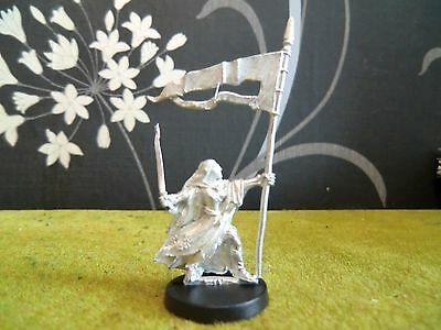 Warhammer Lotr - Woodland Elf Command Standard Bearer (Metal Model)
