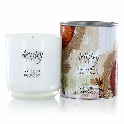 Ashleigh & Burwood Artistry Eastern Spice Scented Wax Candle Glass Jar Gift Box