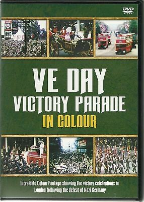Ve Day Victory Parade In Colour And Trooping The Colour Dvd Ww2 Gift Idea