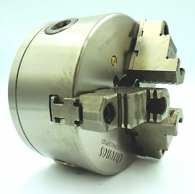 125 mm 3 Jaw Lathe  Chuck with Direct Mount D1-3 Camlock (Ref: K11125AD3)