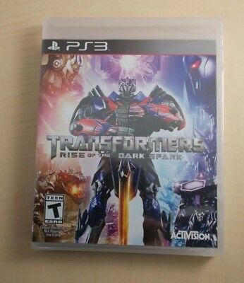 Transformers Rise of the Dark Spark (North America) - PS3