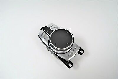 NEW BMW G30 G11 G12 iDRIVE iTOUCH 5 & 7-SERIES CONTROLLER TOUCH SILVER & BLACK