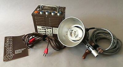 Speedotron Model D402 brown power unit with one head