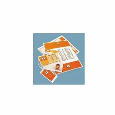 UNIVERSAL OFFICE PRODUCTS 84650 Clear Laminating Pouches, 5 Mil, 2-1/8 X 3-3/8,