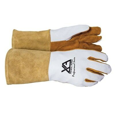 XCEL-ARC Professional TIG Welder Leather Welding Gloves Heat Protection Durable