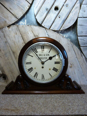 Ball Of Leicester Fusee Bracket Clock