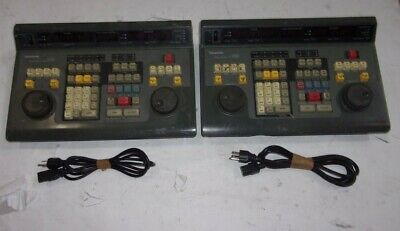 Lot of 2*Panasonic AG-A850P Studio Editing Controller SEE NOTES