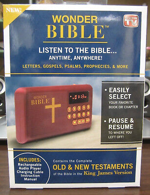 *WONDER BIBLE As Seen On TV WB011124 FACTORY BRAND NEW WITH FREE SHIPPING