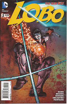 Lobo  #2 DC New 52 alien invasion Reilly Brown Cullen Bunn Alisson Borges VF
