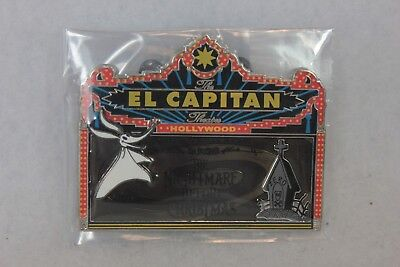 Disney LE 500 Pin Marquee El Capitan Theatre DSF DSSH Nightmare Before Christmas