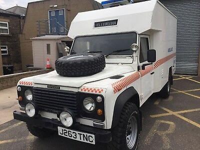 1992 Land Rover Defender Ambulance DEFENDER 130 3.5 V8 1992 16000 MILES ONLY EX RAF AMBULANCE LIKE BRAND NEW