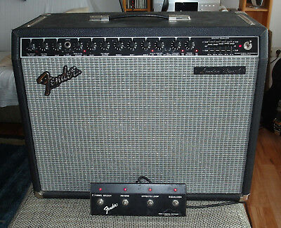 FENDER LONDON REVERB rare & vintage early 80s Rivera aera top condition 100W
