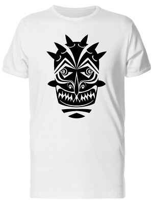 Ancient Tiki Tribal Mask Men's Tee -Image by Shutterstock