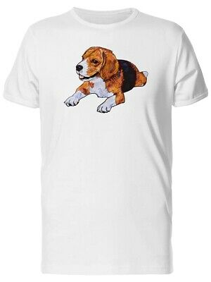 Adorable Beagle Cute Dog Men's Tee -Image by Shutterstock