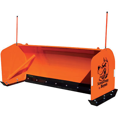 ScoopDogg Snow Pusher for Skid Steers - 8Ft.L, Model# 2603008