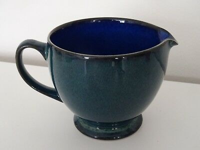 Denby England  Metz Blue & Green 3 Inch Tall Milk/cream Stoneware Jug