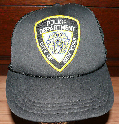Base Cap Police Department City of New York Neu