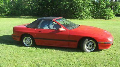 1988 Mazda RX-7 -- 1988 Mazda RX-7  76778 Miles Red Convertible Rotary 5 Speed Manual
