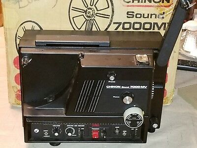 Chinon 7000 Movie Projector Parts Only