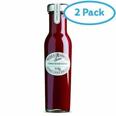 2 Packs of Wilkin & Sons Ltd Tiptree Tomato Ketchup 310g