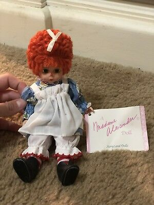 Madame Alexander Raggedy Ann Mop Top Wendy Doll Mint Condition NEW
